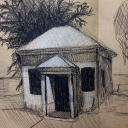 California (Arcata flatlands) drawing
