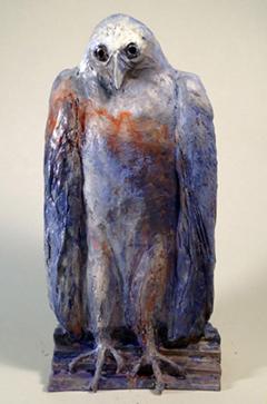 """Homo sacre, bronze 15x6x6"""""""