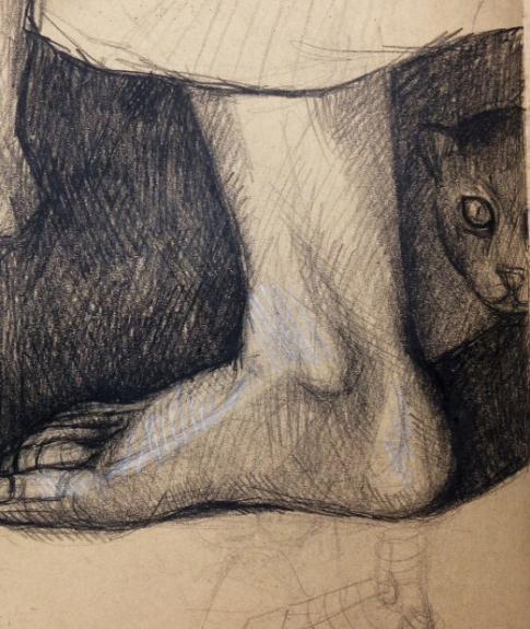 Maybe Del Sarto's foot