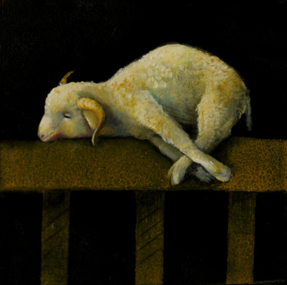 Zurburan's lamb, 12x15