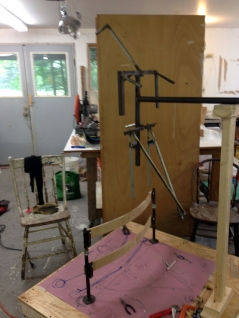 armature for 6-foot bird