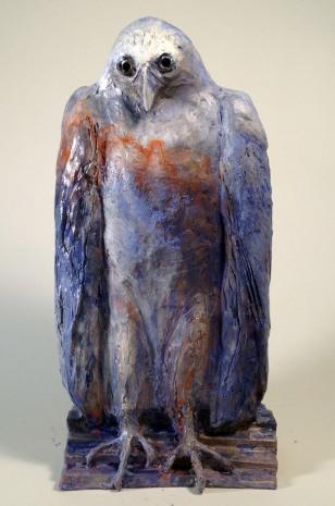 Ziegler, Homo Sacer, bronze 2016, 17x8x6