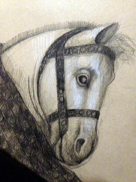 Bruegel's horse