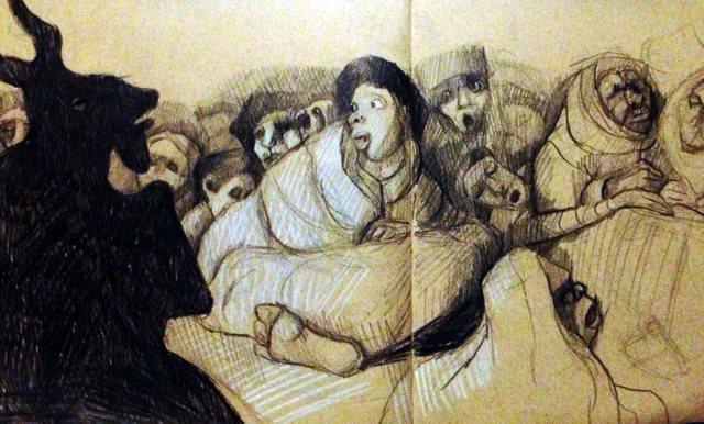 Goya's great he-goat